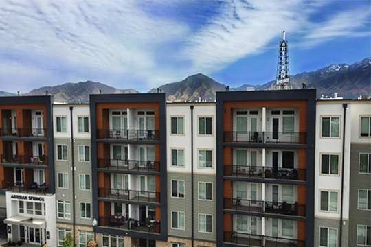Artesian Springs Is The Center Of Attention In Salt Lake City Located Adjacent To Birkhill Apartments Just 2 Blocks I 15 Corridor